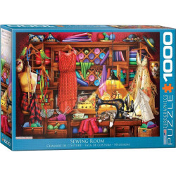 Sewing Craft Room Puzzle (1000)