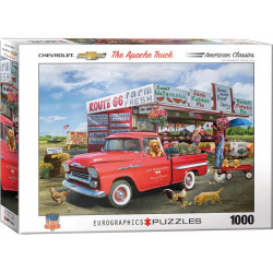 1959 Chevrolet Apache puzzle - Greg Giordano (1000)