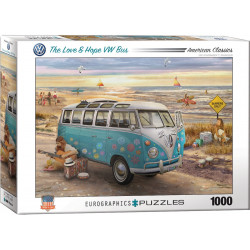 The Love & Hope VW Bus puzzle - Greg Giordano (1000)
