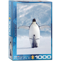 Penguin & Chick puzzle (1000)