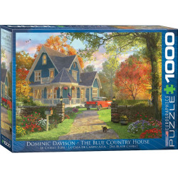 The Blue Country House puzzle - Dominic Davison (1000)