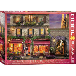 The Red Hat Restaurant Paris Puzzle (1000)