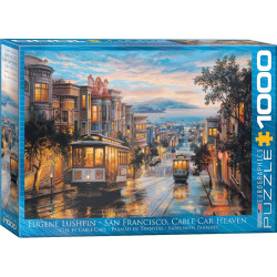 San Francisco Cable Car Heaven puzzle (1000)