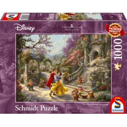Disney puzzle - Dancing with the prince - Snow White (1000)
