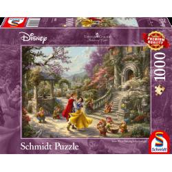 Disney puzzel - Dansen met de prins - Sneeuwwitje (1000)