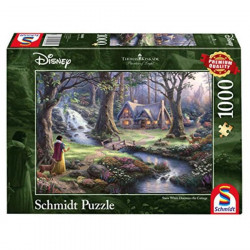 Disney Snow White Discovers the cottage puzzle (1000)
