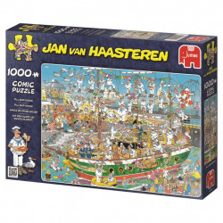 Tall Ship Chaos Puzzle - Jan van Haasteren (1000)