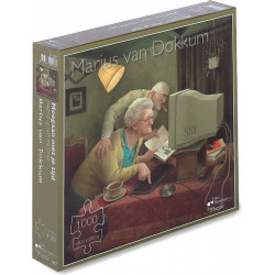 [Beschädigt] Meegaan met je Tijd puzzel - Marius van Dokkum (1000)