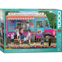 [Damaged] Dan's Ice Cream Van Puzzle - Paul Normand (1000)