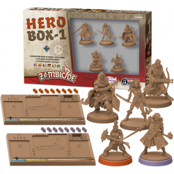 Zombicide: Black Plague – Hero Box 1