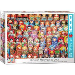 Russian Matryoshkas Dolls puzzle (1000)