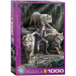 Wolves Family puzzle (1000)