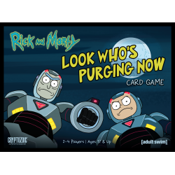 Rick and Morty: Look Who's Purging Now Card Game
