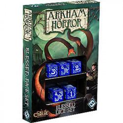 Arkham Horror Blessed Dice Set Blue