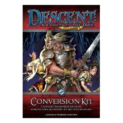 Descent Journeys in the Dark Second Edition Conversion Kit
