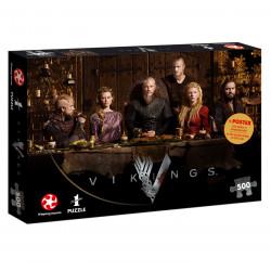 Puzzle: Vikings Ragnar's Court (500)