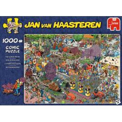 The Flower Parade puzzle - Jan van Haasteren (1000)