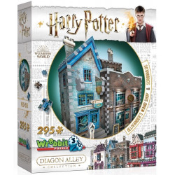 Wrebbit 3D Puzzle - Harry Potter Ollivander's Wand Shop &...