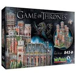 Wrebbit 3D Puzzle - Game of Thrones The Red Keep (845)