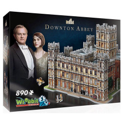 Wrebbit 3D Puzzle - Downton Abbey (890)