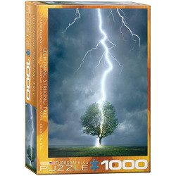Lightning Striking Tree puzzle (1000)