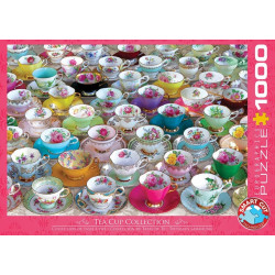Tea Cups Collection puzzle (1000)