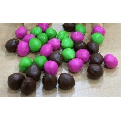 36 Pack of Coconuts (12 Brown, 12 Green, 12 Pink)