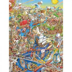 Hugo Prades - History River Puzzle (1500)