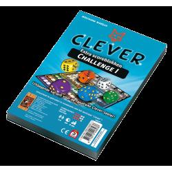 Clever Challenge Scoreblok (blauw)