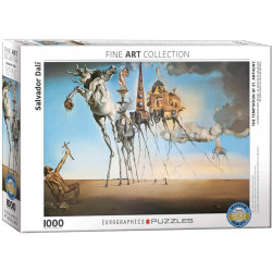 The Temptation of St. Anthony Puzzle - Salvador Dalí (1000)