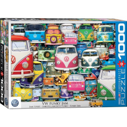 VW Funky Jam Puzzle (1000)