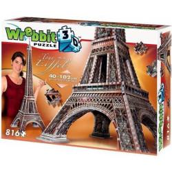 Wrebbit 3D Puzzle - La Tour Eiffel - Eiffeltoren (816)