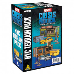 Marvel Crisis Protocol: NYC TERRAIN PACK