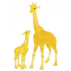 Crystal Puzzle: Pair of Giraffes (38)