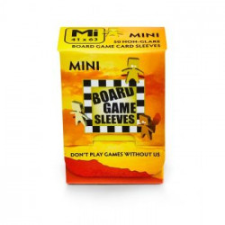 Sleeves Non Glare Board Game - Mini (63x41 mm)  50 pcs