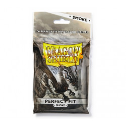 Dragon Shield Sleeves Perfect Fit Smoke (100 pcs)