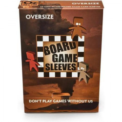 Sleeves Non Glare Board Game - Oversize (120x79 mm) 50 pcs