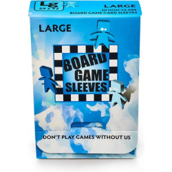 Sleeves Non Glare Board Game - Large (92x59 mm) 50 pcs