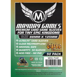 Mayday Tiny Epic Kingdoms Card Sleeves 88 x 125 (50p)