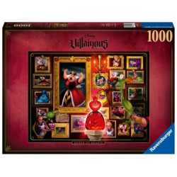 Disney Villainous - Queen Of Hearts puzzle (1000)