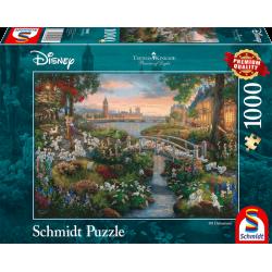Disney Puzzle - 101 Dalmatiërs (1000)