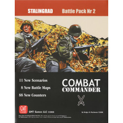Combat Commander: Battle Pack nr 2 – Stalingrad - Third printing