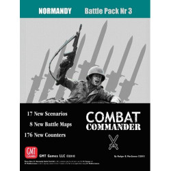 Combat Commander: Battle Pack nr 3 – Normandy - Second printing