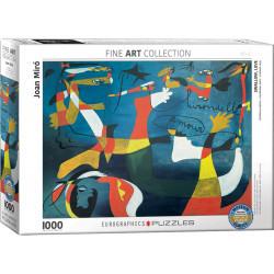 [Endommagé] Swallow, Love puzzle - Joan Miro (1000)