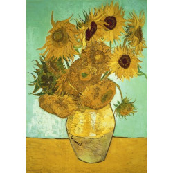 Sunflowers Wooden Puzzle - Vincent Van Gogh (140)