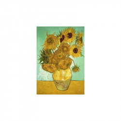 Sunflowers Wooden Puzzle - Vincent Van Gogh (40)