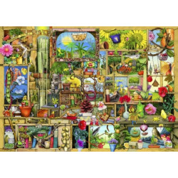 The Gardeners Cupboard Wooden Puzzle - Colin Thompson (140)