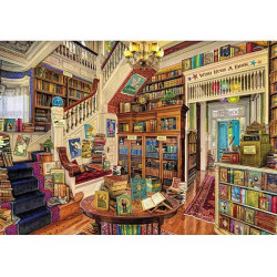 Wish upon a Bookshop Wooden Puzzle - Aimee Stewart (40)