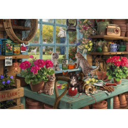 Grandpa's Potting Shed Wooden Puzzle - Steve Read (40)