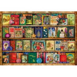 Festive Bookshelf Wooden Puzzle - Aimee Stewart (40)